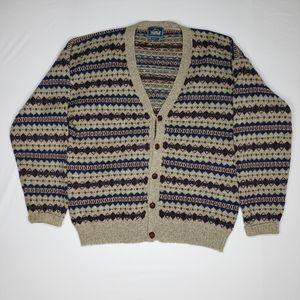 Vintage 80s Woolrich Cardigan Sweater